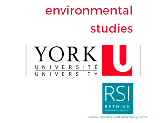 York University Environmental Studies 2016